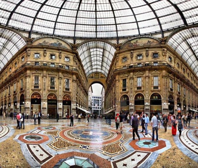 Milán + Nákupy