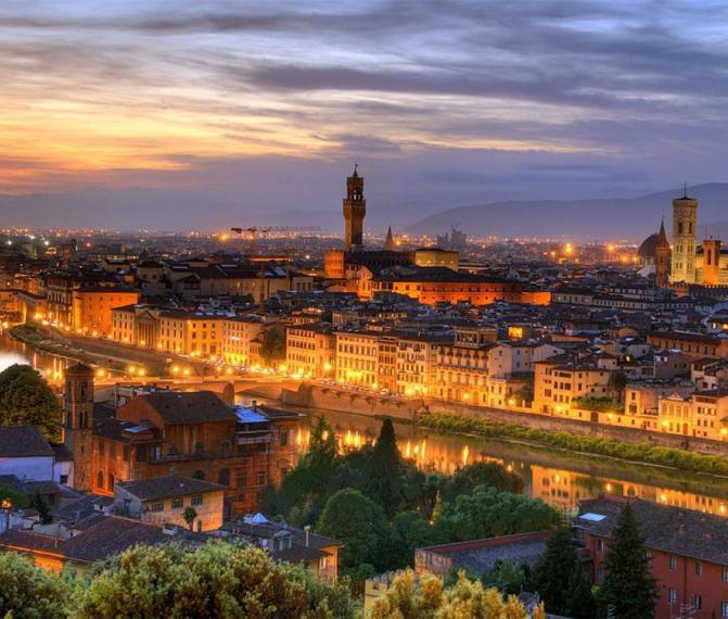Milan + Genova + Florencie