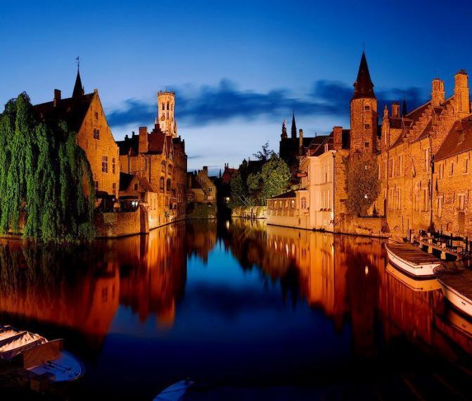 FLANDRIA (Bruggy, Gent, Antverpy, Brusel)