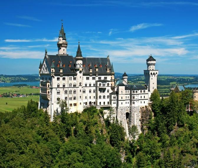Zámky Bavorska + Mnichov ve středu