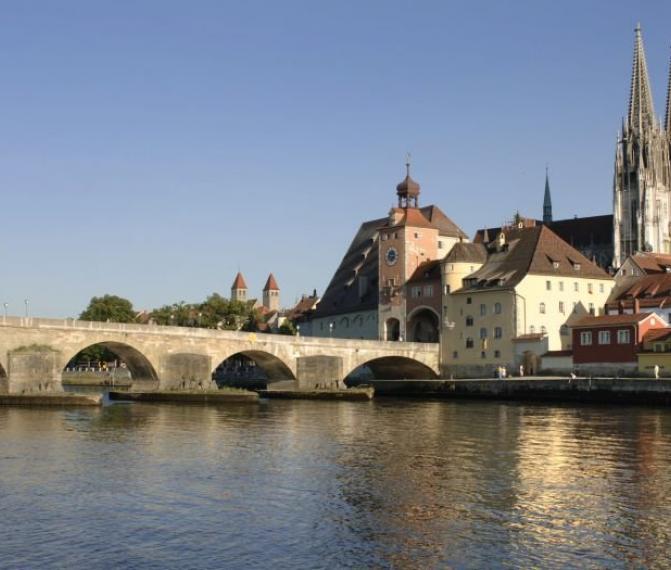 Regensburg v sobotu