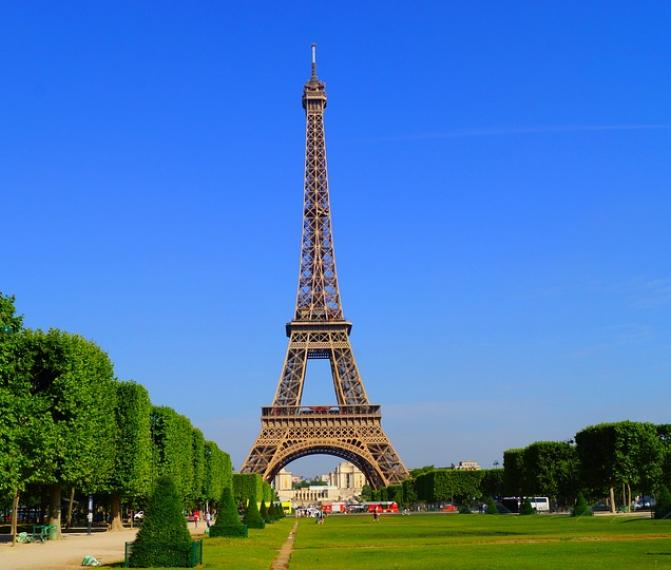 Paříž v úterý
