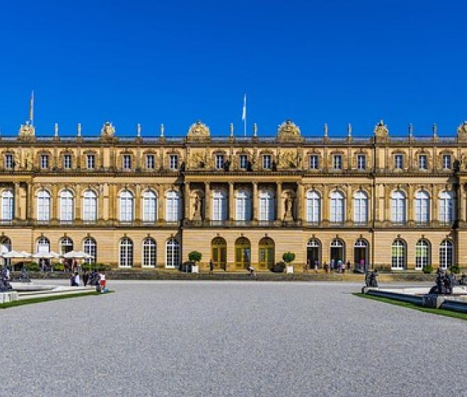 Zámek Herrenchiemsee + Mnichov