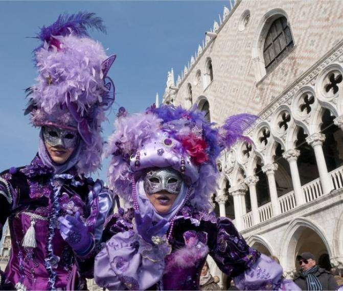 Benátský Karneval + Verona 2019