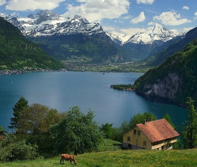 Švýcarsko 2 dny 2021