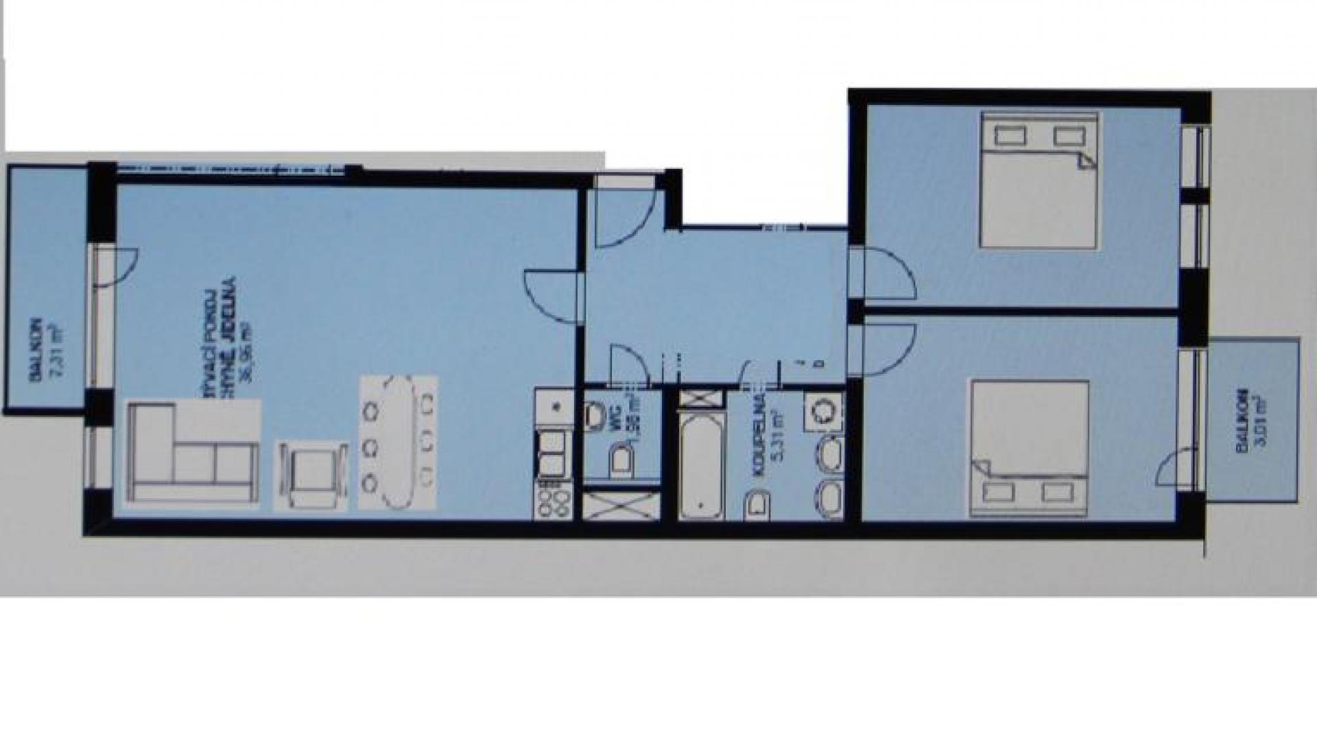 Апартаменты в Карловых Варах - София 3